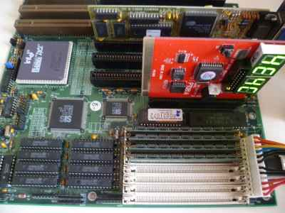 Analisi e ripristino 486 motherboard