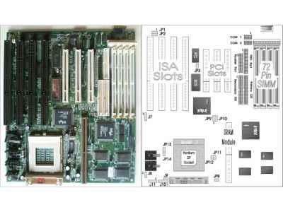 Motherboard Identification: BIOS chip swapping